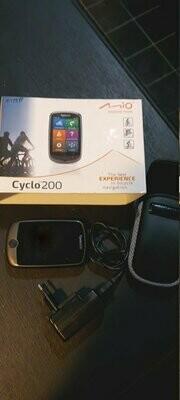 Mio Cyclo 200 - Fiets GPS met tal van mogelijkheden