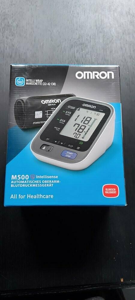 NIEUW !!  Automatische bloeddrukmeter - Omron M500 (nieuw model)