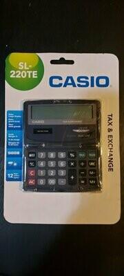 NIEUW --- Casio toeklapbare rekenmachine -- 12 cijfer display