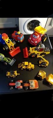 Lot speelgoed-auto's - 10 stuks