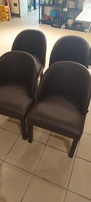 4 cupstoelen (Palma) - geen gebruikssporen