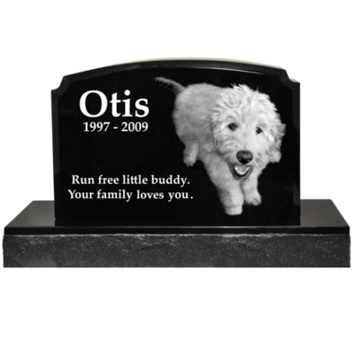 Grave Markers With Laser Engraved Photo