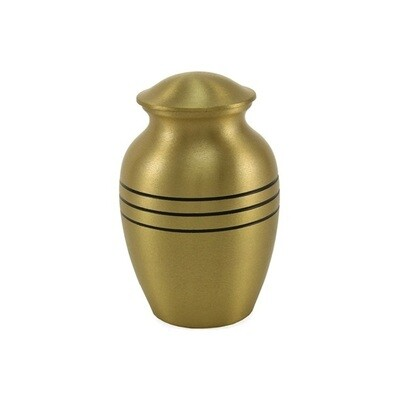 Classic Bronze and Pewter Brass Urns