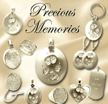 Precious Memories Keepsakes in Gold