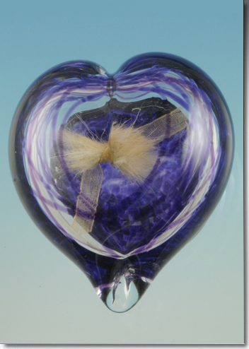 Heart Glass Memorials