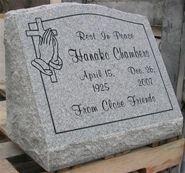 Granite Markers