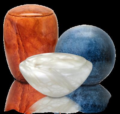 Alabaster Stone Urns