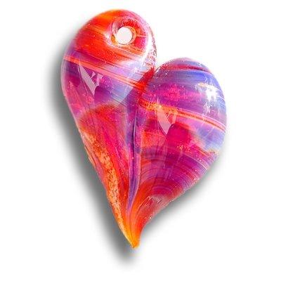 Forever In Glass Heart Pendant