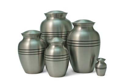 Classic Urns in Bronze & Pewter