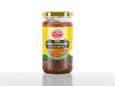 777 Kaara Kuzhambu Rice Paste 300gm