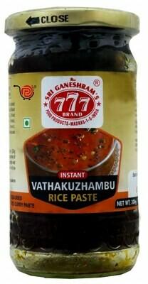 777 vathakuzhambu Rice paste