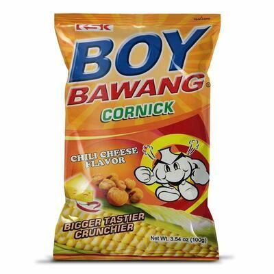 Boy Bawang Cornick Chili Cheese Flavour 100gm