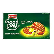 BRITANNIA GOOD DAY PISTACHIO-ALMOND COOKIES 231GM