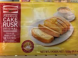BRITANNIA PREMIUM CAKE RUSK ORIGINAL