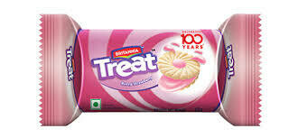 Britannia Treat Cookies Strawberry