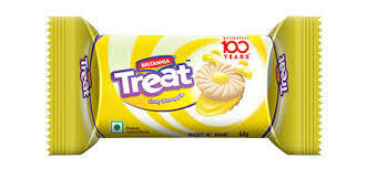 Britannia Treat Cookies Pineapple