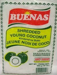 Bulacan Shredded Young Coconut 454gm