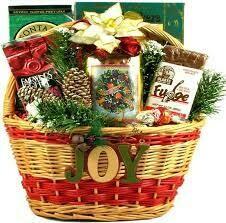 Christmas Snacks Basket
