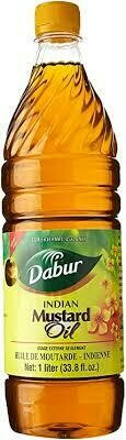 Dabur Indian  Mustard Oil 1ltr
