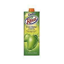 DABUR REAL GREEN MANGO 1L