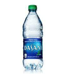 Dasani Water Bottle 591 Ml