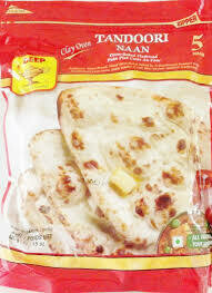 Deep Clay Oven FROZEN Naan 5pcs