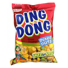 Ding Dong Mixed Nuts Hot&spicy 100gm