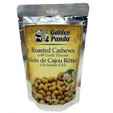 Golden Panda Roasted Peanuts With Garlic Flavour 100gm