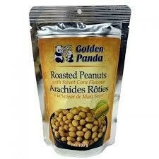 Golden Panda Roasted Peanuts With Sweet Corn Flavour 100gm