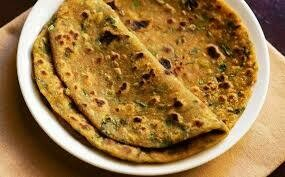 Homestyle Mixed Vegetable Paratha