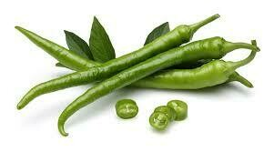 Indian Green Chilli Hot