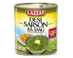 Lazzat - SARSON KA SAAG 850GM