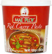 Mae Ploy Red Curry Paste