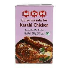 MDH CURRY MASALA FOR KARAHI CHICKEN 100GM