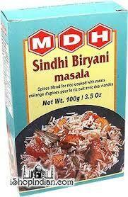 MDH SINDHI BIRYANI MASALA 100GM