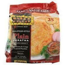 Mirch masala Plain Paratha 25 Pcs