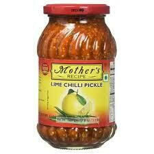 MOTHER'S - LIME CHILLI PICKLE 500GM