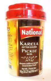 NATIONAL BITTER GOURD PICKLE 1 KG