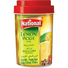 NATIONAL- LEMON PICKLE 500GM