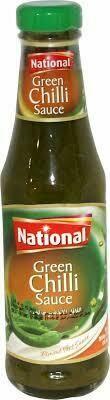 National Green Chilli Sauce