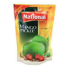 NATIONAL- MANGO PICKLE 500GM