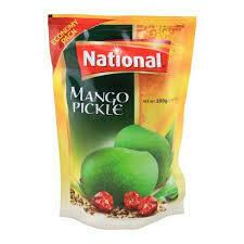 NATIONAL- MANGO PICKLE 500GM
