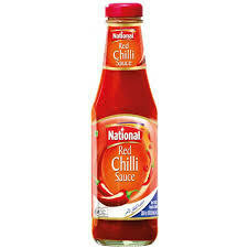 NATIONAL-RED CHILLI SAUCE 300GM
