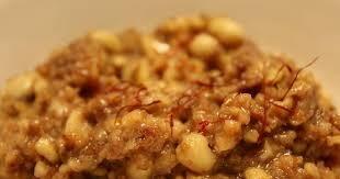 Peanut Halwa