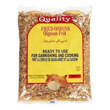 Quality Brand Fried Onions 400gm