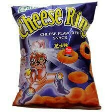 Regent Cheese Ring Cheese Flavoured Snack 60gm
