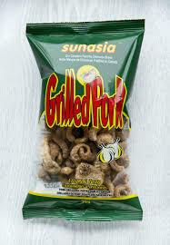 Sunasia Grilled Pork 75gm Garlic Flavour