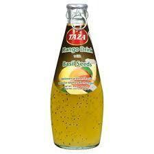 Taza Basil Seed Drink Mango 290ml