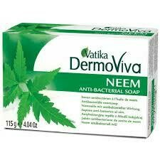 VATIKA DERMOVIVA NEEM SKIN DEFENSE SOAP 115GM
