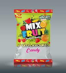 Verka Mix Fruit Candy 400gm